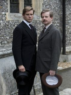 The Brothers Branson | More Downton Abbey photos here:  http://mylusciouslife.com/historical-style-downton-abbey-photos/