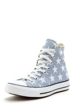 Converse Printed High Top Star Sneaker