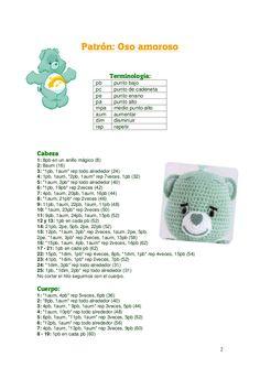Ososamorosos Crochet Bunny Pattern, Crochet Dolls Free Patterns, Amigurumi Patterns, Crochet Toys, Crochet Baby, Knit Crochet, Knitting Patterns, Amigurumi Tutorial, Amigurumi Doll