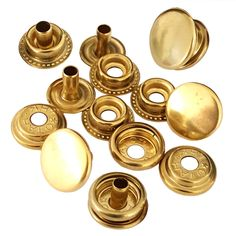 """5 Sets Solid Brass Ornament 1//8/"""" Chicago Screwback Post Assembly for Conchos"""