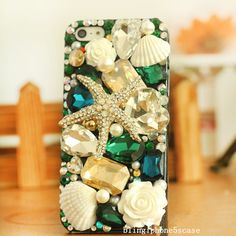 big gem iphone 5s case iphone 5c caseiphone5 by blingiphone5scase, $28.50
