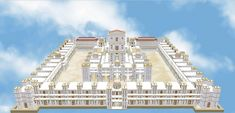 Templo de Ezequiel, maqueta, 3d impresora, libro.   Indiegogo