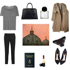 The Lost City by nastycat on Polyvore featuring T By Alexander Wang, Acne Studios, MICHAEL Michael Kors, La Perla, Christian Dior, Prada, Chanel and Byredo