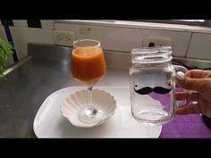3 Jugos para limpiar el colon - YouTube Mason Jars, Tableware, Youtube, Medicine, Home, Juices, Dinnerware, Dishes, Youtubers
