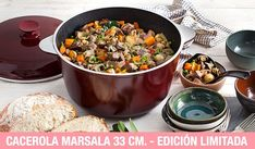 Más capacidad, más recetas para toda la familia Marsala, Chefs, Dog Food Recipes, Post, Deco, Pottery Plates, Saucepans, Healthy Nutrition, Good Monday