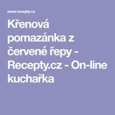 Křenová pomazánka z červené řepy - Recepty.cz - On-line kuchařka