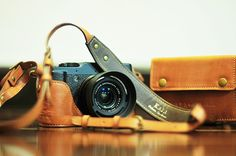 Just ordered this beautiful little leather case for my Fuji X10 created by Nel Kate.