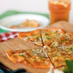 Low Carb Pan Fried Pizza Cheese