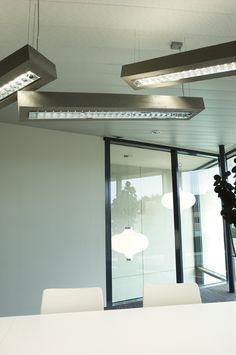 d-CONCRETE office interior design DARK Office Interior Design, Office Interiors, Hotel Indigo, Birmingham, Workplace, Concrete, Loft, Dark, Bed