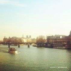 """Paris in spring, courtesy of """"Oh Happy Day"""" (The best blog in the world)"""