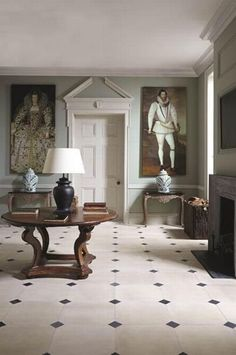 Traditional Interior Design Ideas For A Beautiful Home Georgian Interiors, Georgian Homes, Design Entrée, House Design, Blog Design, Design Ideas, Style At Home, Foyer Decorating, Interior Decorating