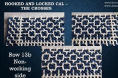 Row non-working side The Row, Coding, Crochet, Free, Crochet Crop Top, Chrochet, Knitting, Haken, Quilts