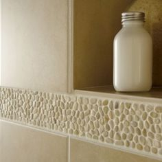 Emser Tile - Tile and Natural Stone River Rock Bathroom, River Rock Tile, Happy Kitchen, Guest Bath, Backsplash, Master Bathroom, Home Remodeling, Pebble Tiles, Tiling