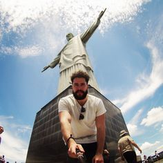 The Most Scenic Selfie Locations Around the World | Christ the Redeemer — Rio de Janeiro