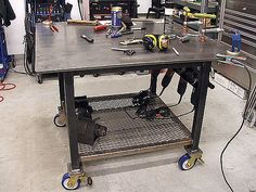 Welding Table, by KB Fabrications