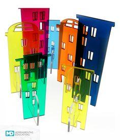 ¡Nuevo! Diseña tu ciudad.  Primeros acercamientos al diseño, la arquitectura y el paisajismo. KIT Ciudad Usalos cerca de la luz de la luz del sol para crear fabulosas sombras de colores y diseños geniales. Ideales para la Mesa Lumínica MD #Educación #Creatividad #Juego #Diseño #DiseñoEducativo #Design #Deco #Kids #BuildYourCity #playwithlight #Color #Espacio  #LightTable #ReggioInspired #KidsDesign #Infancia #Niños #playfulllearning