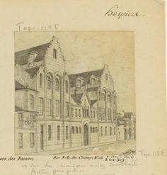 Hospices : Petites soeurs des Pauvres. Rue N-D des Champs N° 45.   Paris Musées