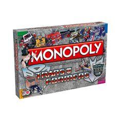 Speciale retro Monopoly van Transformers! In 2014 is het alweer 30 geleden dat de populaire Transformers verschenen. Deze speciale 30th Anniversary Monopoly van Transformers brengt je terug in de tijd met een speelbord boordevol Autobots en Decepticons. Bouw basissen (huizen) en reparatiecentra (hotels) en verzamel de diverse robotkaarten.  Speel het spel met 6 speciale tokens zoals Optimus Prime, Jazz, Grimlock, Megatron, Starscream en Ravage!  Inhoud: 1 speelbord, 6 speelstukken, een pak…