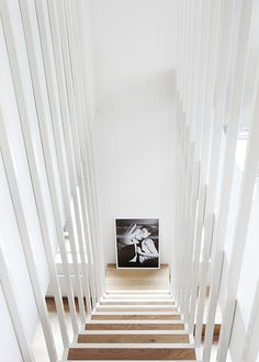Basement stair railing