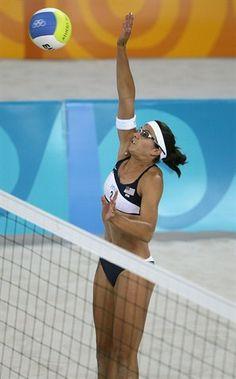 Misty May-Treanor at the 2004 Athens Olympics.
