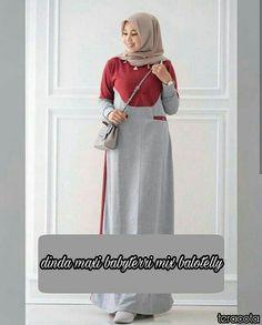 Fn Dinda maxy Rp. 95.000 material : babyterry mix balotelly size : allsize fit L  Informasi dan pemesanan hubungi kami SMS/WA +628129936504 atau www.ummigallery.com  Happy shopping   #jilbab #jilbabbaru #jilbabpesta #jilbabmodern #jilbabsyari #jilbabmurah #jilbabonline #hijab #Kerudung #jilbabinstan #Khimar #jilbabterbaru #jilbab2017 #jilbabkeren #jilbabmodis #bajumuslim #gamis #syari #maxidress #maxi #atasanwanita #atasanmuslim Muslim Long Dress, Modele Hijab, Kebaya Muslim, Mode Abaya, Abaya Designs, Abaya Fashion, Hijab Outfit, Modest Dresses, Dress Patterns