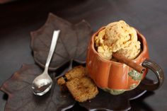 Vegan Pumpkin Spice Ice Cream - Against All Grain - Award Winning Gluten Free Paleo Recipes to Eat Well & Feel Great