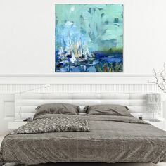 New canvas prints of this one now available. #fineartamerica #homedecor #bluedecor #abstractcoastalpainting #abstractartwork #coastalart #sailingday #sailingtrip #sailingaway #charlotteartist