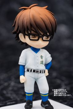 Check out those seme eyes tho. Even the #Miyuki chibi is adorably sexy! He can't help but tease the latent fujoshi/fudanshi heart in us all #daiyanoace