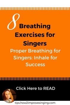 Click here to read about breathing exercises for singers: http://tips.how2improvesinging.com/breathing-exercises-for-singers/