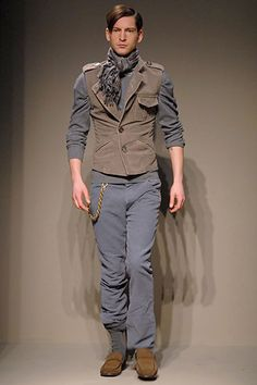 Bottega Veneta | Fall 2006 Menswear Collection | Style.com