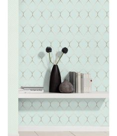 This Fretwork Geometric Wallpaper features a geometric trellis pattern in metallic silver on a soft textured duck egg blue background. Free UK delivery available Bedroom Wallpaper Duck Egg, Duck Egg Blue Wallpaper, Duck Egg Blue Bedroom, Blue Bedroom Walls, Feature Wall Bedroom, Silver Bedroom, Wallpaper Uk, Geometric Wallpaper Prints, Textured Wallpaper