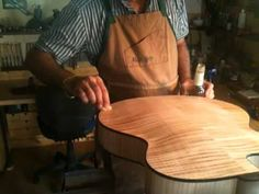 Marchione Archtop French Polish - YouTube