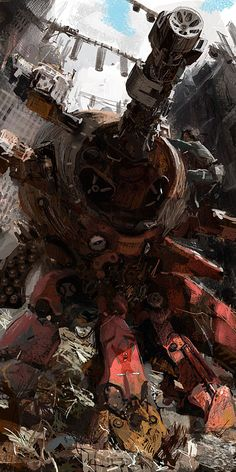 rusty_urban_mech.jpg Not normally my thing, but amazed at how real... And yet not.  I like it.