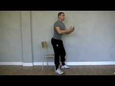 Gambe e Glutei Sodi con una sedia, nessun attrezzo! - Personal Trainer #2 - YouTube