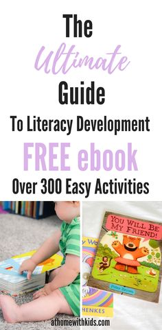 Literacy Activities for Toddlers | Early Learning | Homeschooling | Teaching Kids to Read