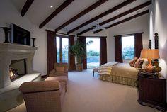 Rustic interior design. Bedroom decor ideas. Bedroom design. Luxury bedroom. Interior design ideas. home decor ideas. For more inspirational ideas take a look at: www.bocadolobo.com