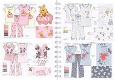 Ladies Nightwear Licensee Collection.
