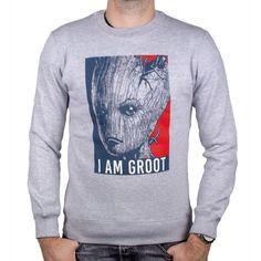 Sweat-shirt Les Gardiens de la Galaxie Vol. Hulk Marvel, Avengers, Dc Comics, Sweat Shirt, I Am Groot, Officiel, Punisher, War, Collection