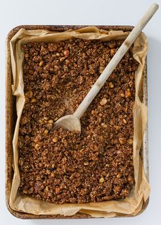 orange, hazelnut, cacao and quinoa granola recipe