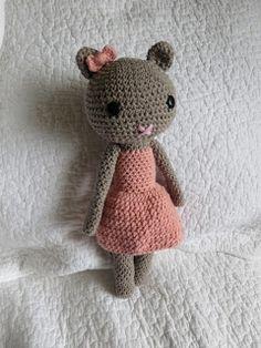 Virkaten: Violet kissa ~ Violet the cat