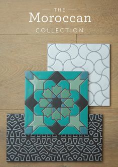 The Moroccan Collection, Fireclay tile design and inspiration. Geometric Patterns, Tile Patterns, Moroccan Design, Moroccan Decor, Moroccan Interiors, Moroccan Bedroom, Moroccan Lanterns, Moroccan Fabric, Design Café