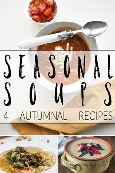 recipe of the week seasonal soups to warm you this winter. Which is your favourite? Vegetable Soup Recipes, Healthy Soup Recipes, Clean Eating Recipes, Fall Recipes, Sweet Soup, Pudding, Most Popular Recipes, Dessert, Daily Meals
