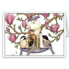 """""""8 Blank Cards/8 Envs"""", Stock #: N9905B, from House-Mouse Designs®. This item was recently purchased off from our web site. Click on the image to see more information."""