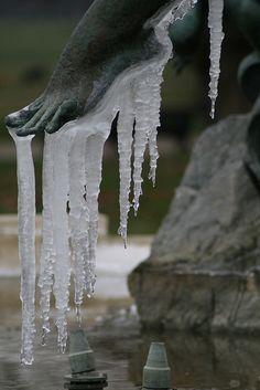 Ghiaccio e arte si fondono. Ninni. Cold feet? | Flickr - Photo Sharing!