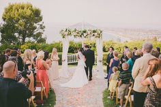 La Venta Inn Wedding, Palos Verdes CA [Dave Richards Photography] - The Wedding Chicks