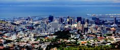 Tilt shift photography with Cape Town as the subject uses the manipulation of camera angles and lenses so that a life-sized subject looks like a miniature-scale model.