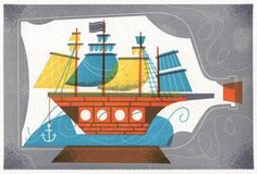 wonderfull retro illustration by Buenos Aires based designer Sollinero