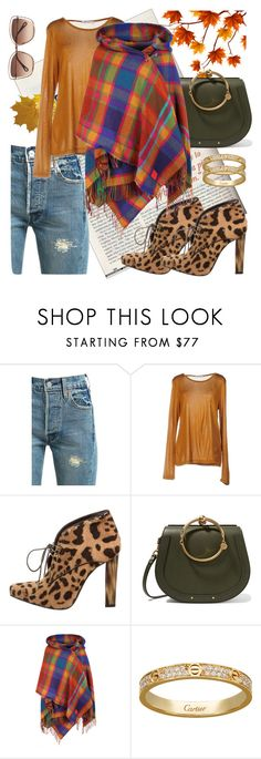 """Autumn 1"" by mary-domenech on Polyvore featuring moda, Levi's, T By Alexander Wang, Roberto Cavalli, Chloé y Vivienne Westwood"