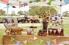 A Country Fair Carnival Party at a Ranch