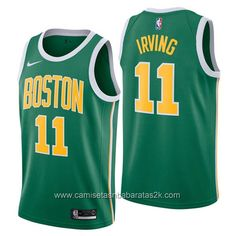 6d55d98785 Camisetas nba baratas nike Earned Edition  11 kyrie irving Boston Celtics  2019